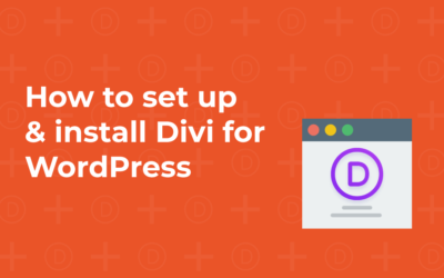 How to set up & install Divi for WordPress
