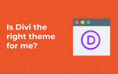 Is Divi the right theme for me?